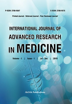 International Journal of Advanced Research in Medicine